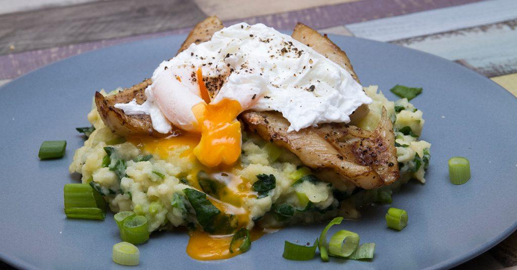 Füstölt tilápia buggyantott tojással - Chefbag