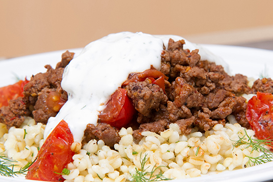 Turkish beef & dill-infused bulgur- Chefbag