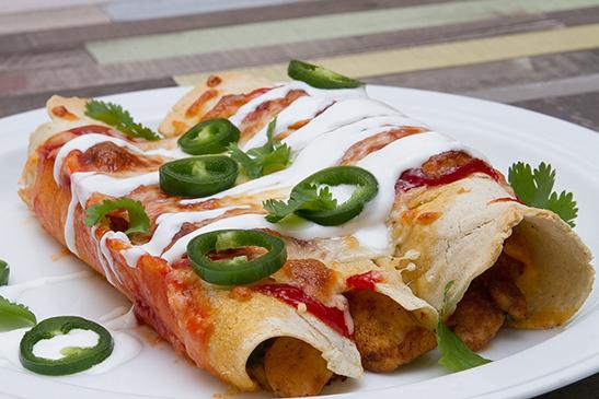 Chefbag - Csirke enchilada házi kukoricatortillából
