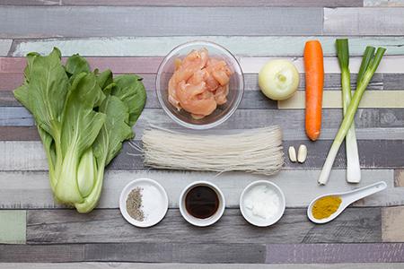 Szingapúri csirke - Chefbag - Vacsora Alapanyag Házhozszállítás