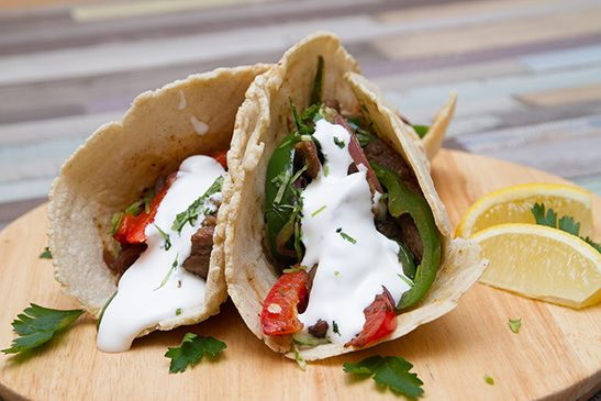 Bélszín fajita guacamoleval - Chefbag