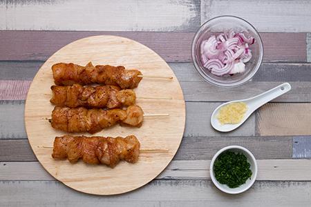 Baharat csirkenyárs mandulás bulgurral - Chefbag