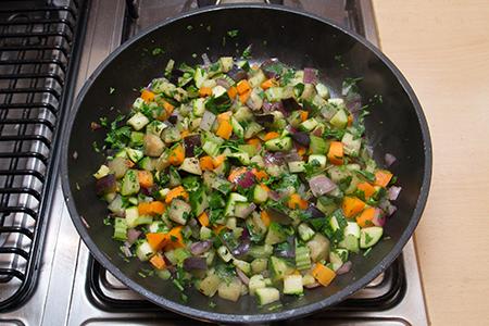 Grillezett kecskesajt zöldséges kuszkusszal - Chefbag