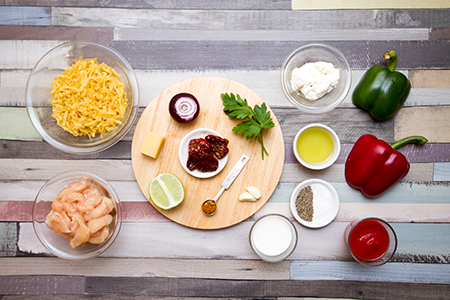 Cajun csirke alfredo szószos fettuccine-vel - Chefbag