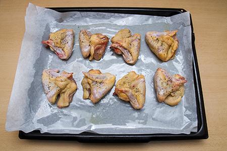 Narancsos csirkeszárny édesburgonya salátával, grillzöldségekkel - Chefbag