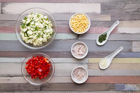 Kukoricás tilápia tárkonyos fűszervajjal - Chefbag