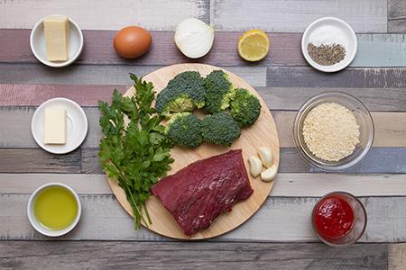 Egyben sült bélszín brokkolikrokettel - Chefbag