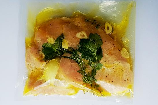 Mustáros, Zöldfűszeres Csirkemell | Grill csomag | Chefbag