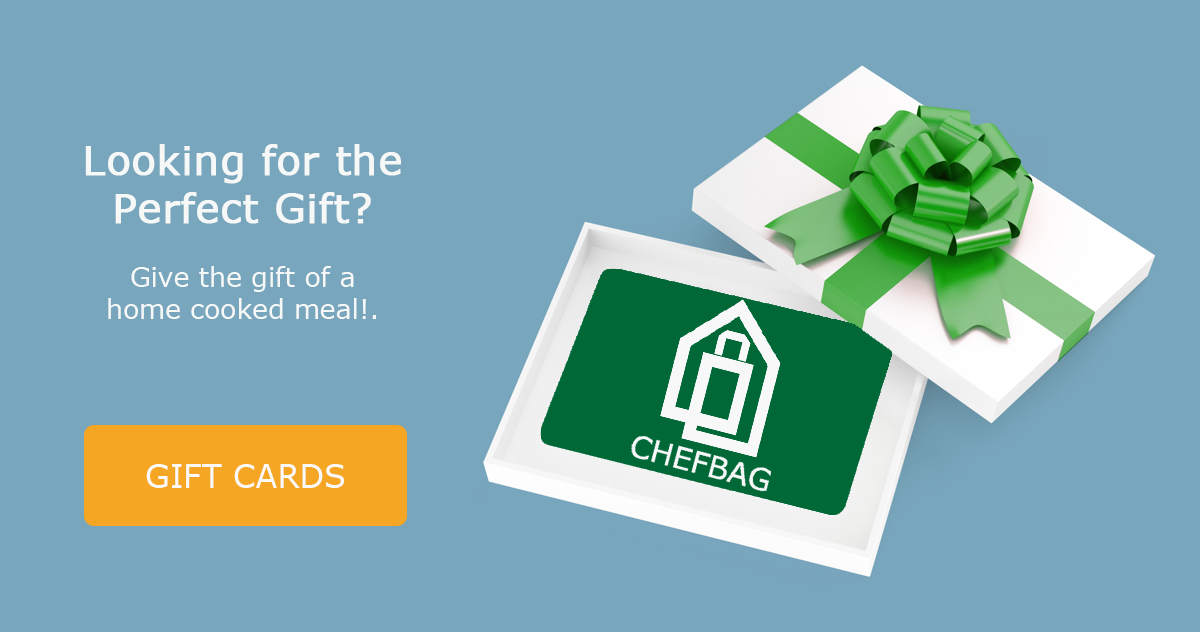 Home cooked meal gift card - Chefbag