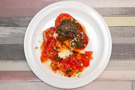 Csirke caprese - Chefbag - Konyhakész alapanyagok