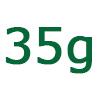 35 gramm szénhidrát
