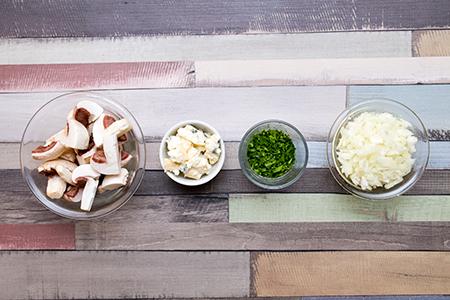 Szűzpecsenye kéksajtos gombamártásban - Chefbag