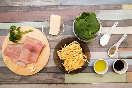PPontyfilé spenótos tagliatellével - Chefbag ételcsomagok