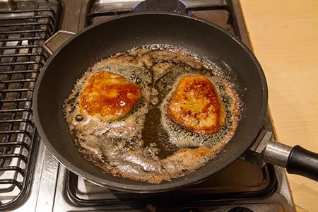 Libamáj karamellizált almával - Chefbag