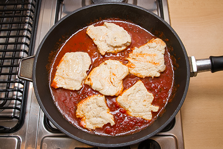 Parmezános csirkemell - Chefbag