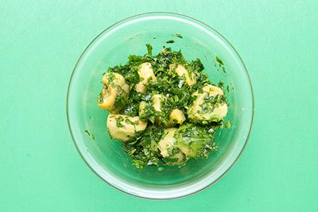 Chefbag-Szűzérmék citromos avokádó salátával