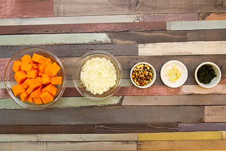 Zsályás sütőtökös diós tagliatelle - Chefbag
