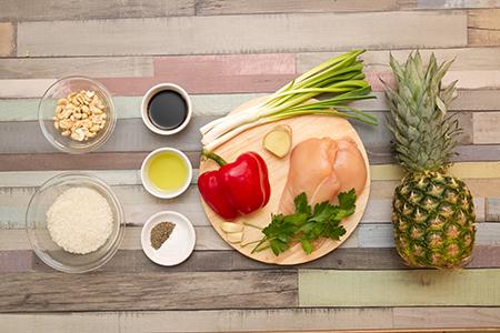Ananászos csirke-Chefbag