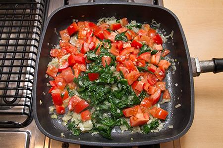 Olivás, kecskesajtos, spenótos penne - Chefbag vacsoracsomag