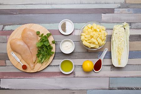 Chipotle chilis-korianderes csirkemell- Chefbag