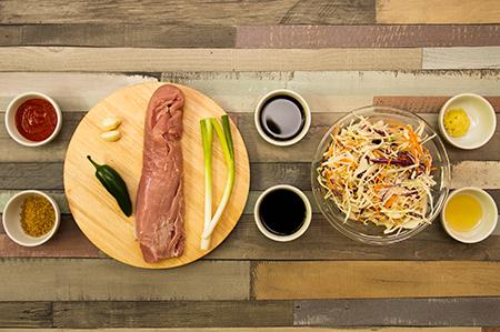 Koreai szűzérmék jalapeno paprikával - Chefbag
